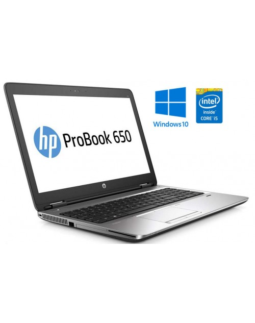 HP EliteBook 650 G2 Intel i5-6200U, SSD