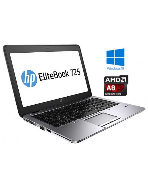 HP EliteBook 725 G3 AMD QuadCore A8, SSD  + darilo