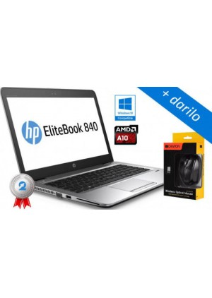 HP EliteBook 745 G3 AMD QuadCore Pro A10, SSD  + darilo