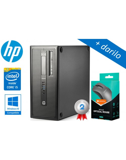 HP Compaq Elite 800 Intel i5 8GB CT SSD + darilo