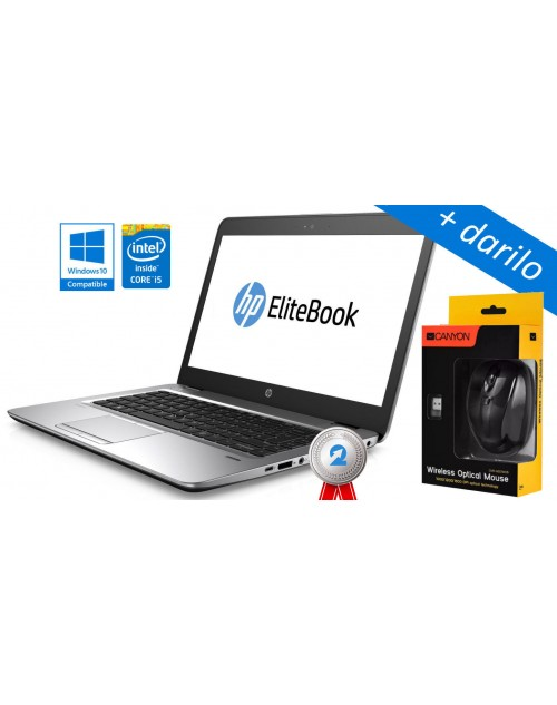 HP EliteBook 840 Intel i5-4300U, SSD  + darilo