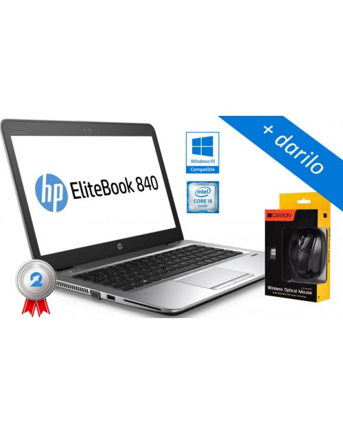 HP EliteBook 840 G3 Intel i5-6300U, SSD  + darilo