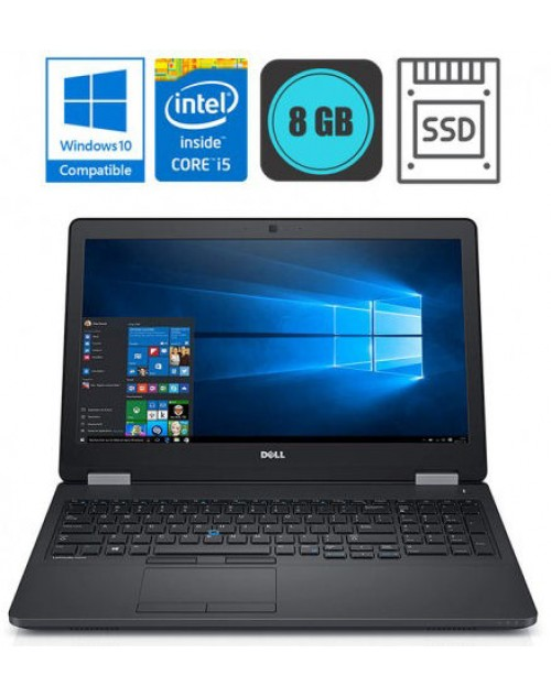 Dell Latitude E5570 Intel i5-6440, SSD + DARILO