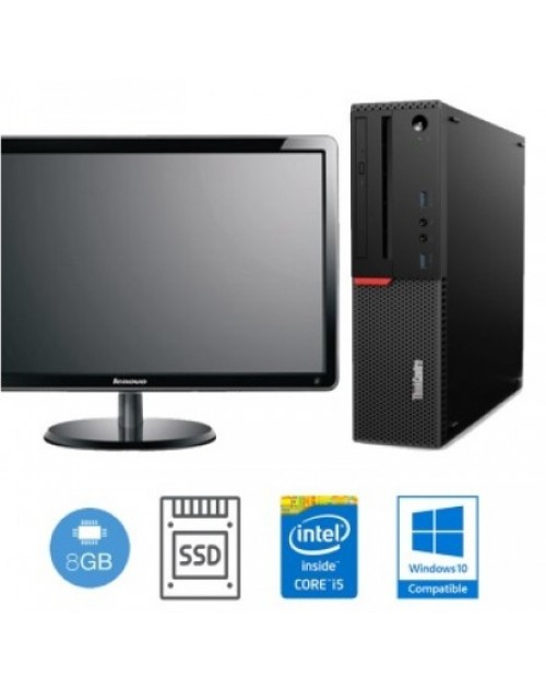 "Lenovo ThinkCentre M700 i5 + 24"" LED monitor"