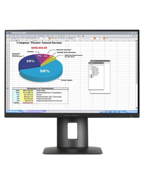 "Hewlett Packard Z24n 24""IPS LED"